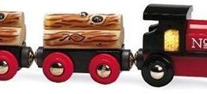 Brio 33536 Pociąg do transportu drewna
