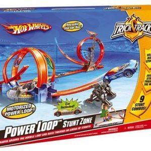 Mattel Hot Wheels Szalony Zjazd Z Pętlami M8081