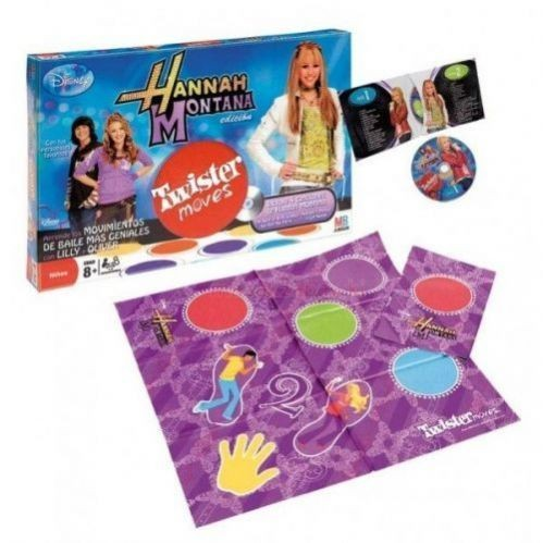 Gra Twister moves-Hannah Montana z pÂłytÂą CD