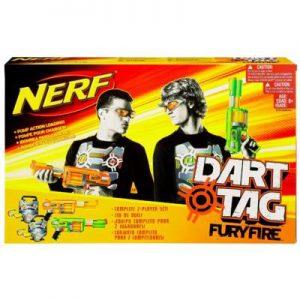 NERF DART TAG FURYFIRE - 2 GRACZY