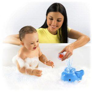 Fisher Price Wielorybek-zgrywek do kąpieli
