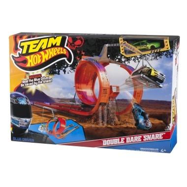 Mattel Hot Wheels Podwójny Tor Wyścigowy Pętla X0169