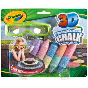Crayola Kreda 3D Zestaw Mały 51-3505