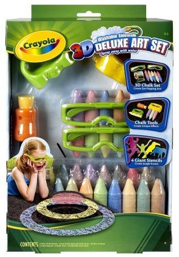 Crayola Kreda 3D zestaw De Lux