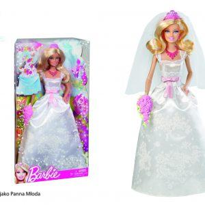 Mattel X9444 Barbie jako Panna Młoda