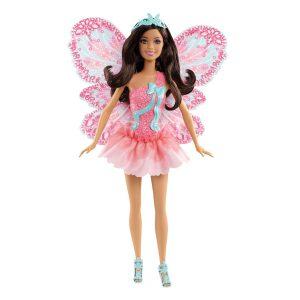 Mattel X9450 Barbie Wróżki z Kolorowymi Skrzydełkami Brunetka