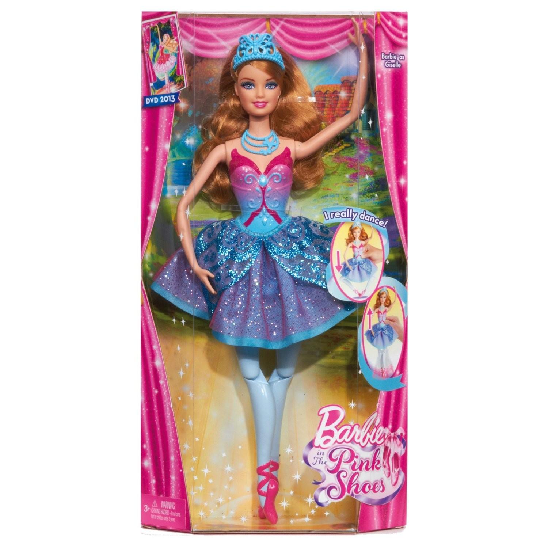 Mattel X8815 Barbie Baletnica z filmu Barbie i magiczne baletki niebieska
