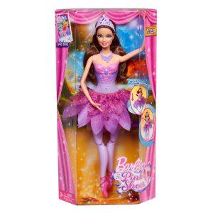 Mattel X8814 Barbie Baletnica z filmu Barbie i magiczne baletki fioloetowa