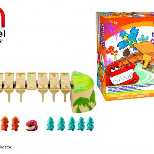 Mattel X8733 Gra Głodny Aligator