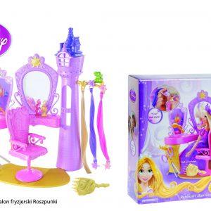 Disney X9385 Princess Salon fryzjerski Roszpunki
