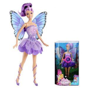 Mattel Y6374 Barbie Kolorowe Wróżki z Filmu