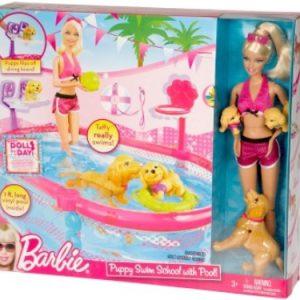 Mattel T2706 Barbie Basen Pływających Szczeniaczków