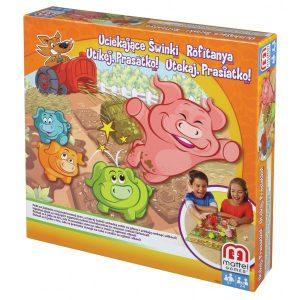 Mattel Y2552 Gra Uciekające świnki Go Piggy Go