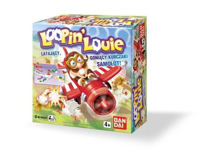 Bandai 84294 Gra Looping Louie