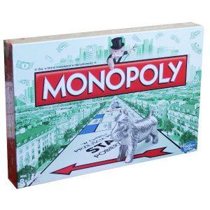 Hasbro 00009 Nowa Gra Monopoly Standart