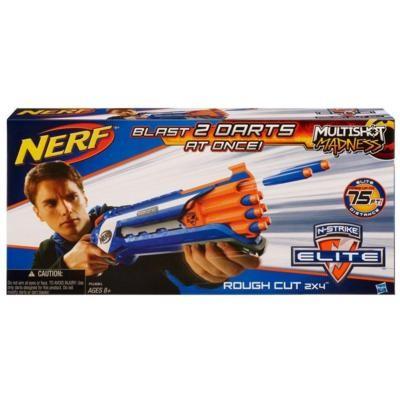 Hasbro A1691 NERF N-STRIKE ELITE ROUGH CUT 2X4 Blaster