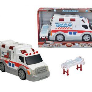Simba 331-8338 Ambulans 33 cm ze światłem i dzwiękiem