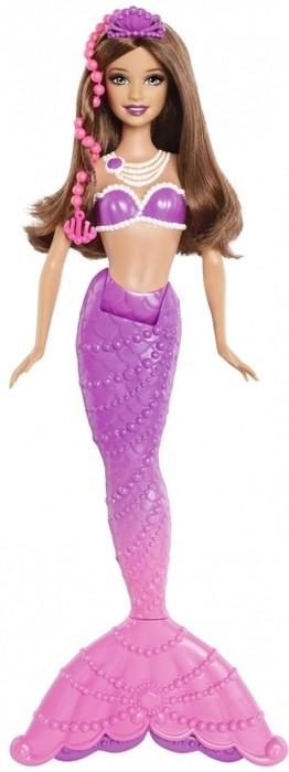 Mattel BDB47 Barbie Perłowe syreny fioletowa