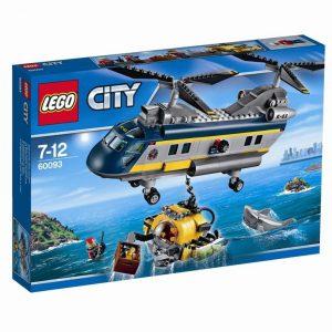 LEGO CITY Podwodny Świat 60093 Helikopter badawczy