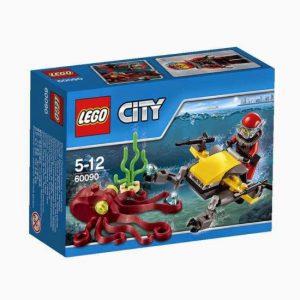 LEGO CITY Podwodny Świat 60090 Skuter głębinowy