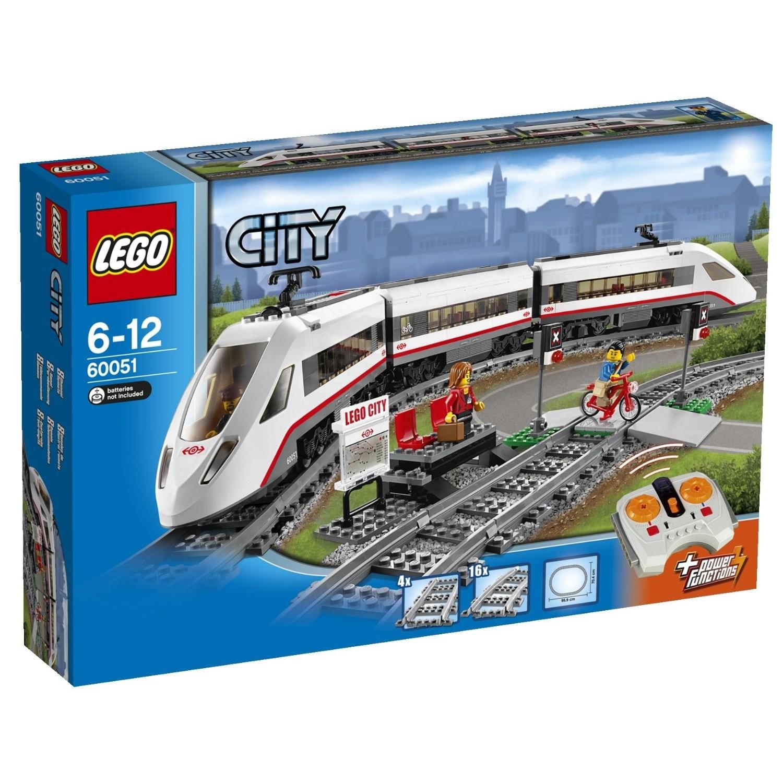 Lego City 60051 superszybki pociąg pasażerski V29