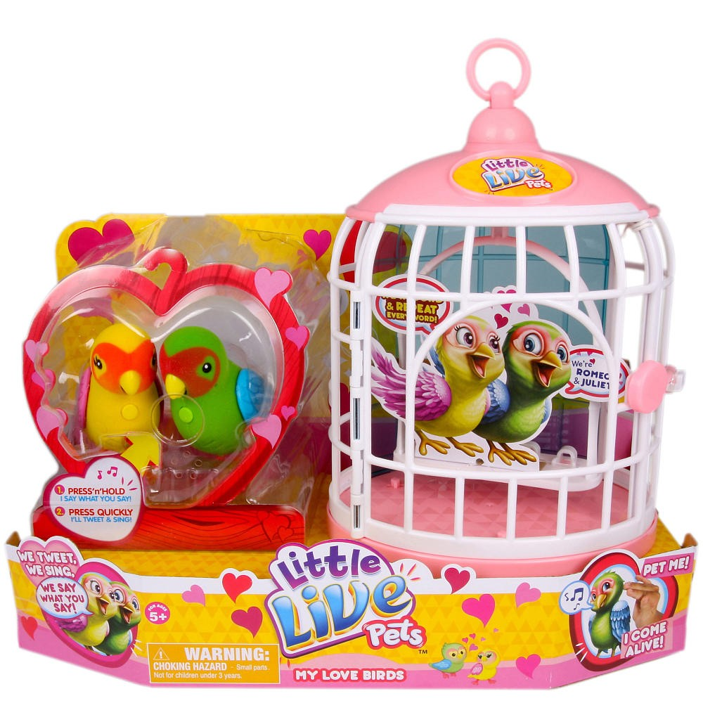 Kochane Ptaszki Little Live Pets M-28026