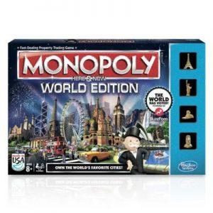 Monopoly Gra Here and Now Edycja Światowa Hasbro B2348