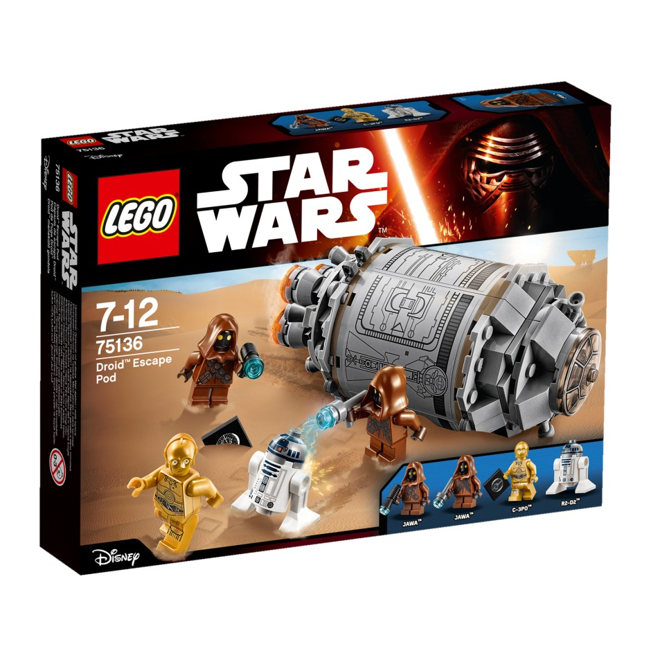 LEGO Star Wars 75136 Kapsuła ratunkowa Droida™ V29