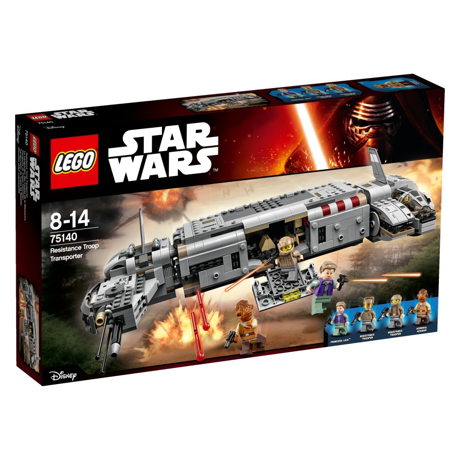LEGO Star Wars 75140 Transport Ruchu Oporu V29