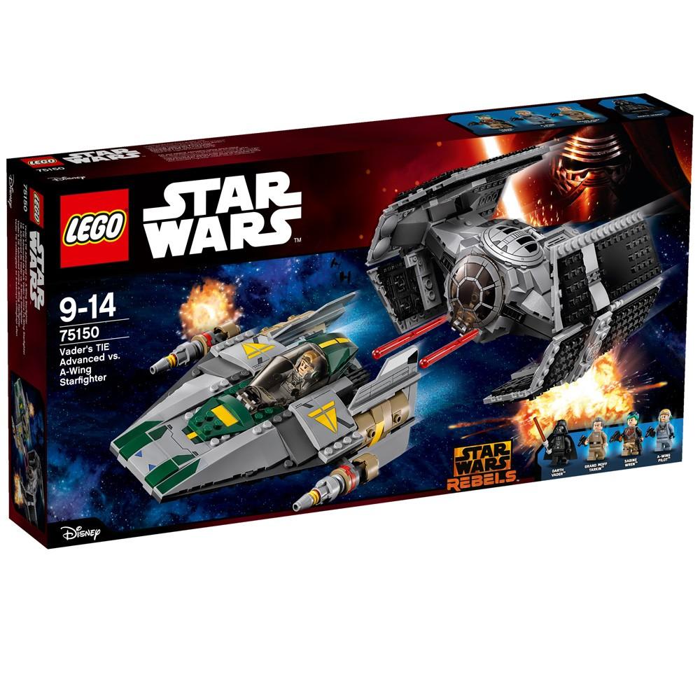 LEGO Star Wars 75150 TIE Advanced kontra myśliwie.. V29