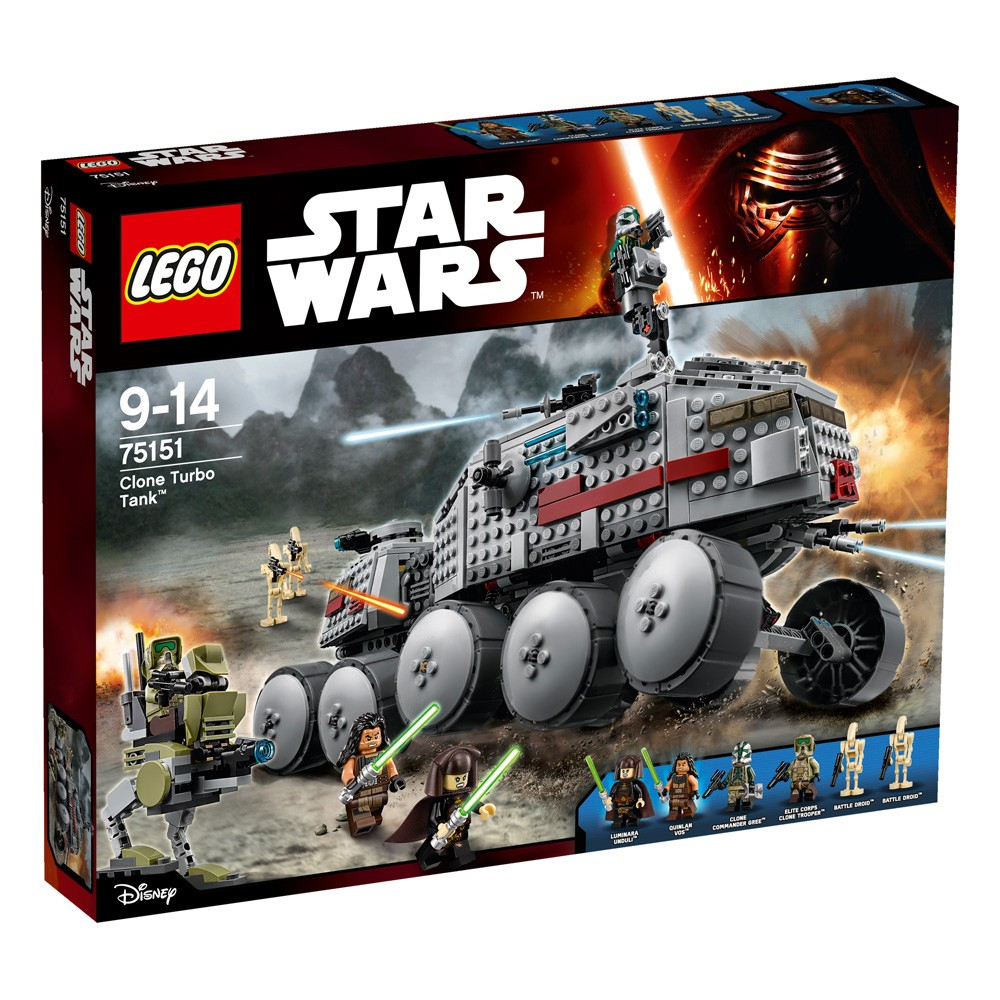 LEGO Star Wars 75151 Turboczołg klonów™ V29