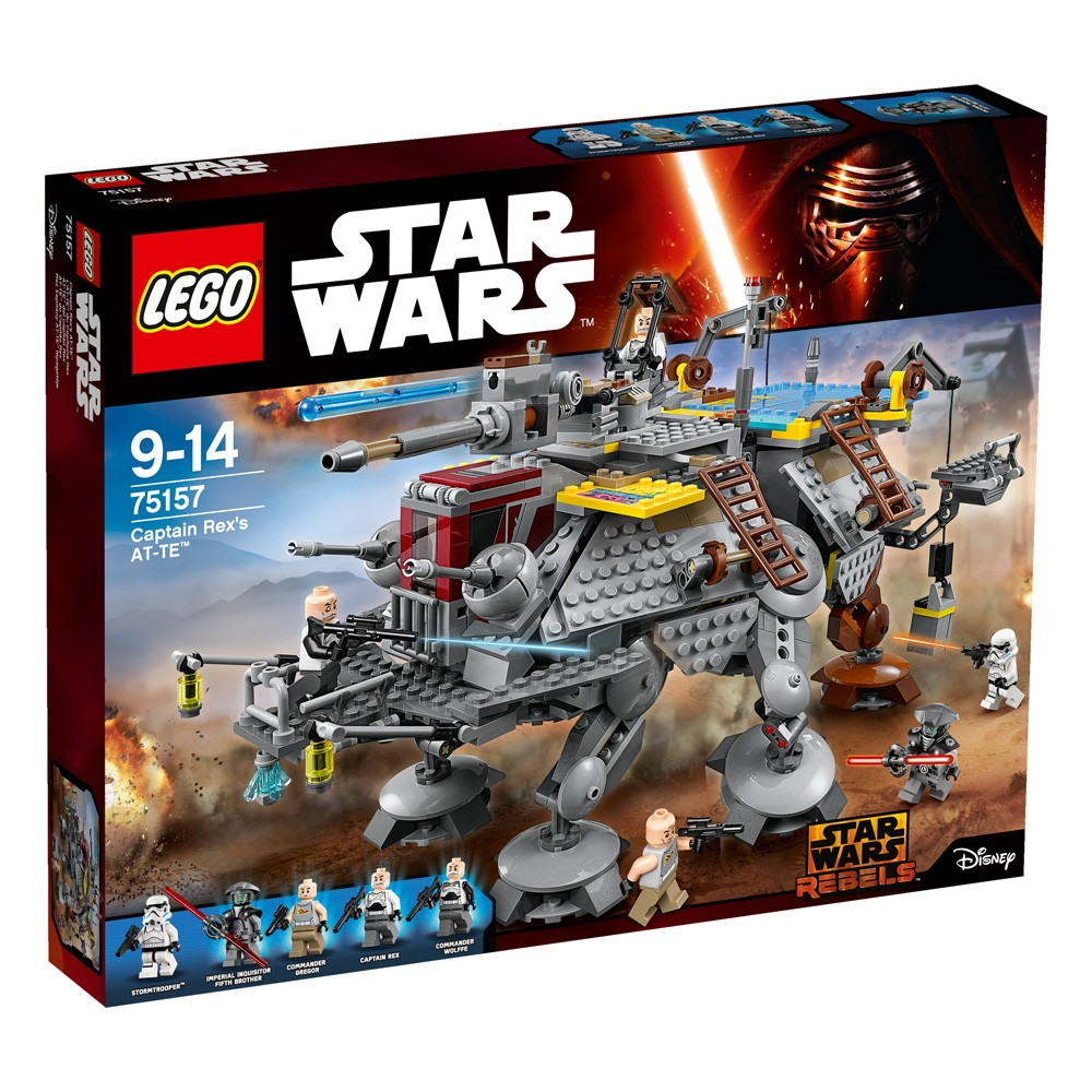 LEGO Star Wars 75157 AT-TE kapitana Rexa V29