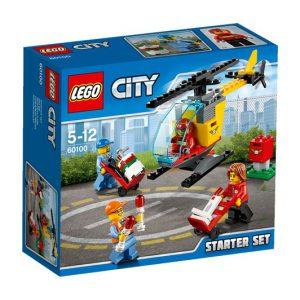 LEGO City 60100 Lotnisko — zestaw startowy V29