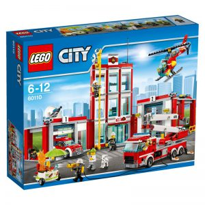 LEGO City 60110 Remiza strażacka V29