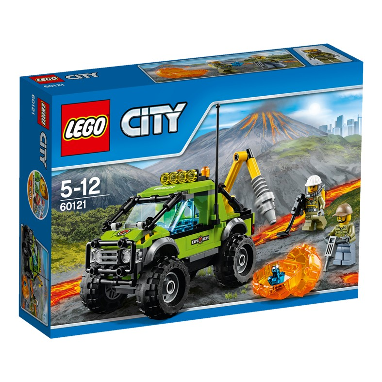 LEGO City 60121 Samochód naukowców V29
