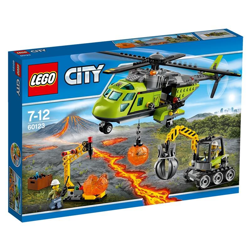 LEGO City 60123 Helikopter dostawczy V29