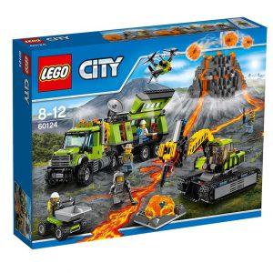 LEGO City 60124 Baza badaczy wulkanów V29