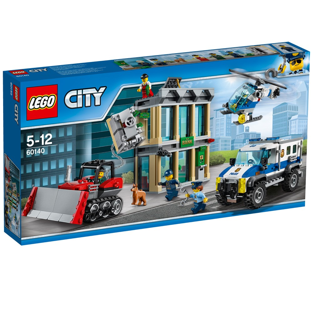 LEGO City 60140 Włamanie buldożerem V29