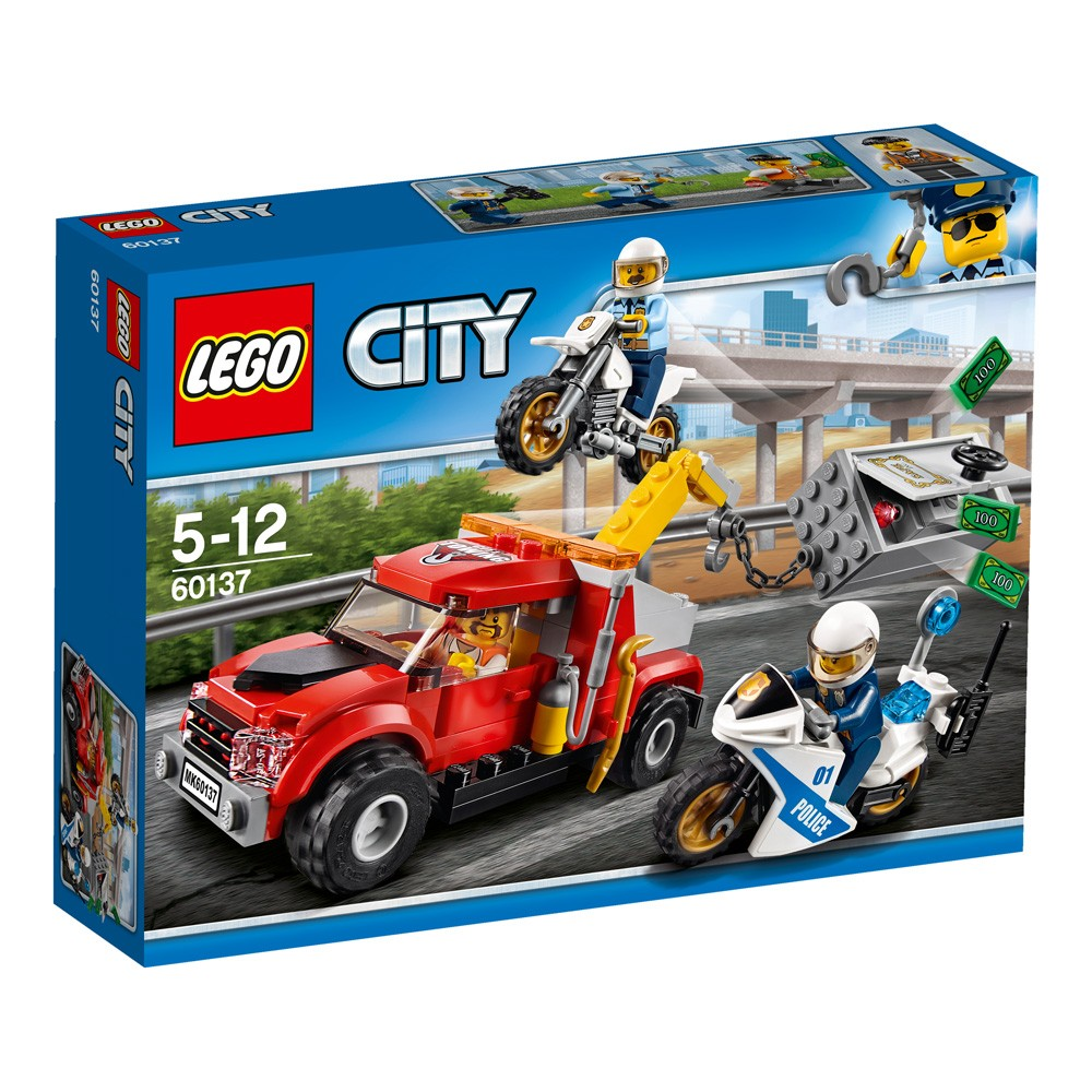LEGO City 60137 Eskorta policyjna V29