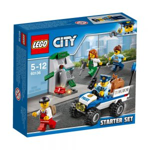 LEGO City 60136 Policja — zestaw startowy V29
