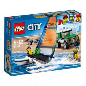 LEGO City 60149 Terenówka 4x4 z katamaranem V29