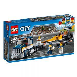 LEGO City 60151 Transporter dragsterów V29