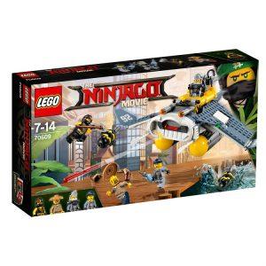 LEGO NINJAGO 70609 Bombowiec Manta Ray V29