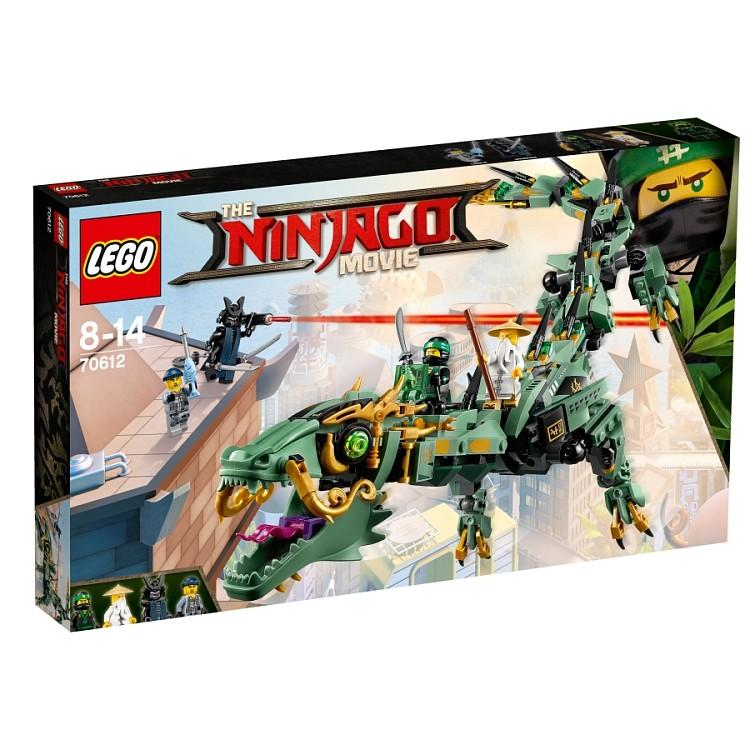 LEGO NINJAGO 70612 Mechaniczny smok zielonego n.. V29