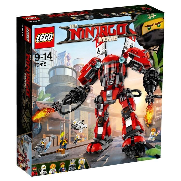 LEGO NINJAGO 70615 Ognisty robot V29