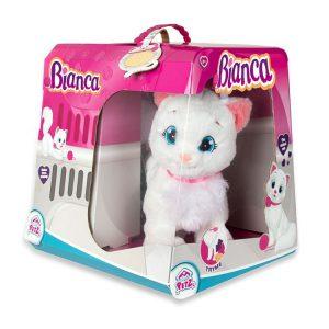 Kotek Bianca, zabawka interaktywna