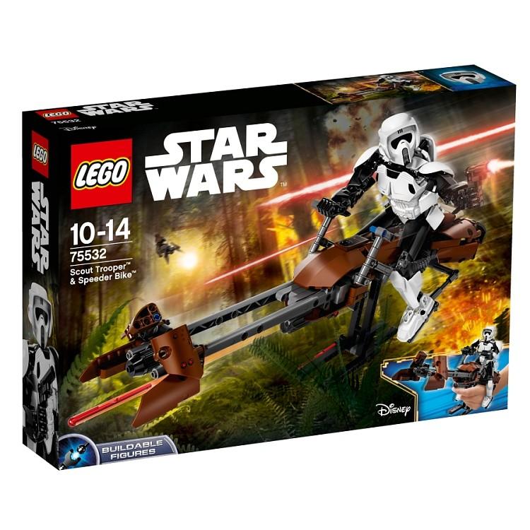 LEGO Star Wars 75532 Zwiadowca szturmowców i jego śmigacz