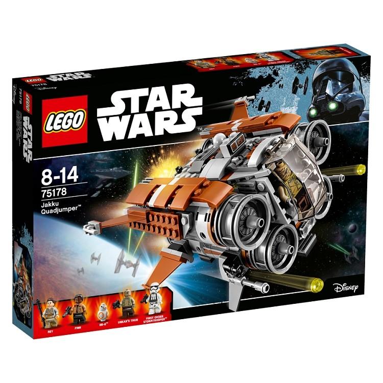 LEGO Star Wars 75178 Quadjumper z Jakku