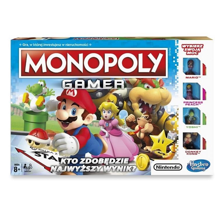 GRA MONOPOLY GAMER NINTENDO MARIO C1815
